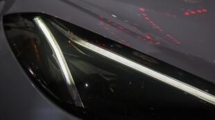 Des phares LED sur la nouvelle Corvette.