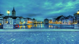 چشم اندازی از شهر زوریخ - سوئیس