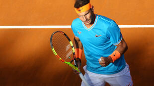Rafael Nadal collected his first title of the season at the italian Open in Rome.