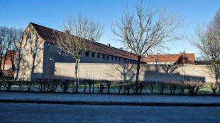 Vista da prisão de Kong Hans, a cidade dinamarquesa de Aalborg
