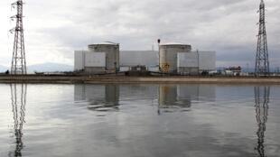 法国费森海姆Fessenheim核电厂  2011年3月14日照片