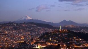 Vue de Quito, le 10 août 2015 (photo d'illustration).