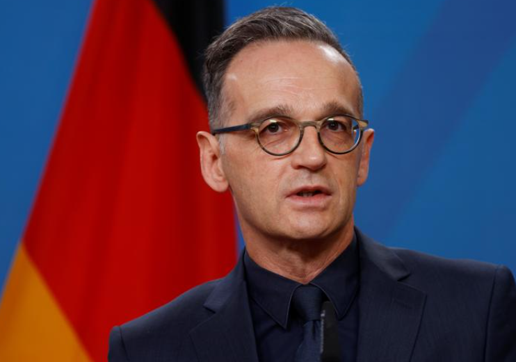 德國外交部長馬斯資料圖片