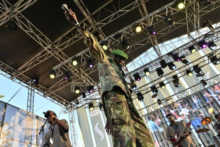 África Negra em concerto no Festival Músicas do Mundo de Sines, 23 de Julho de 2014