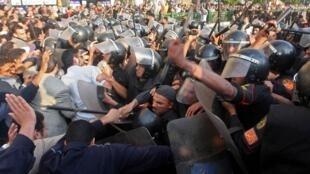 6月30日埃及发生大规模抗议并演化成暴力冲突