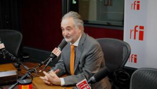 Jacques Attali, président de PlaNet Finance, ancien conseiller de François Mitterrand.