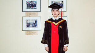 中國演員翟天臨北京電影學院博士畢業資料圖片