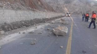کانون زلزله در استان بوشهر در منطقه کوهستانی بوده است