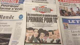 Primeiras páginas dos diários franceses 10/02/2016