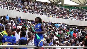 Mashabiki wa Taifa Stars wakati ilipokua ikifuana na Cote d'Ivoire  June 16 mwaka 2013.