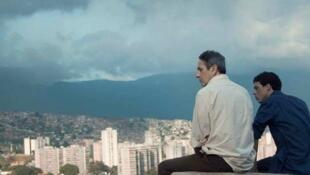 """""""Desde allá"""" está protagonizada por Alfredo Castro y Luis Silva."""