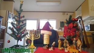 Internauta divulga foto de Natal na Arábia Saudita, onde, publicamente, apenas o islamismo pode ser celebrado.