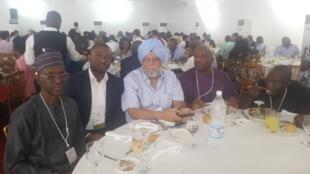 Injiya Mohammed Kabir Wanori da wasu masana a taron dumamar yanayi na kasar Ivory Cost