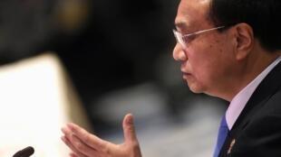 中國國務院總理李克強2019年11月3日在曼谷出席東盟-中國峰會