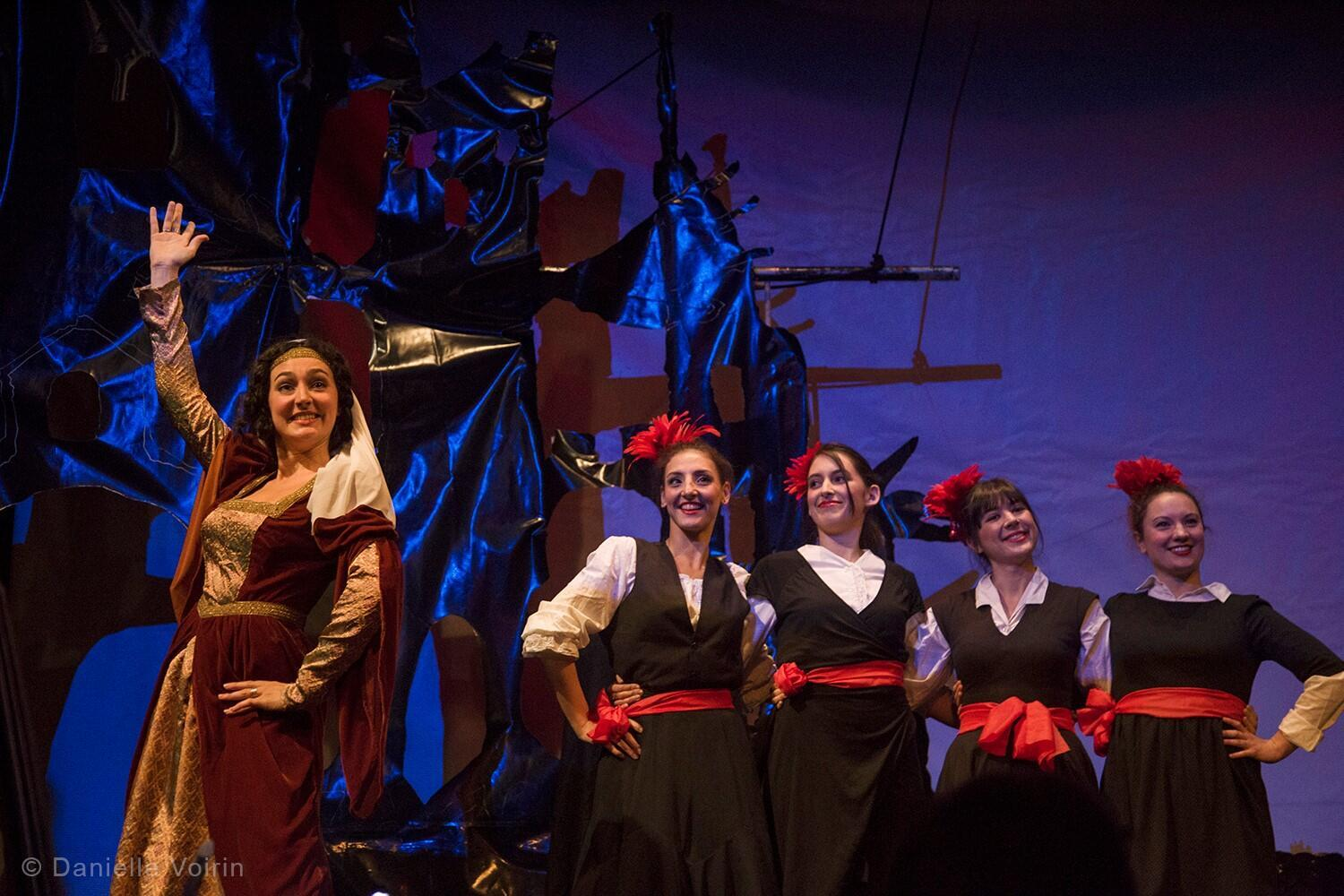 Offenbach's Croquefer, or The Last of the Paladins at Theatre Déjazet, 6 November 2017