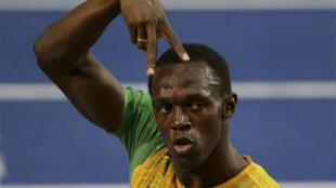 Usain Bolt a réussi le doublé 100m-200m à Berlin.