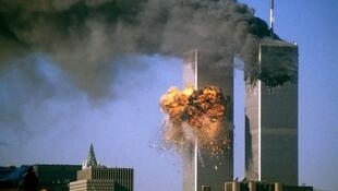L'attaque des tours du World Trade Center, à New York, le 11 septembre 2001.