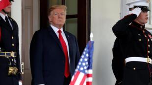 Rais wa Marekani, Donald Trump, Juni 7, 2018 katika ikulu ya White Maion.