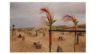 Stèle 9, série : cimetière de Zaafrane, 2008 (Tunisie).