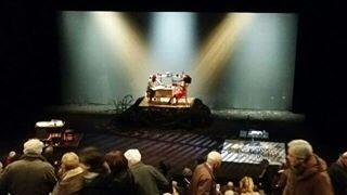 Une scène de la pièce «Terre Noire» d'Irina Brook.