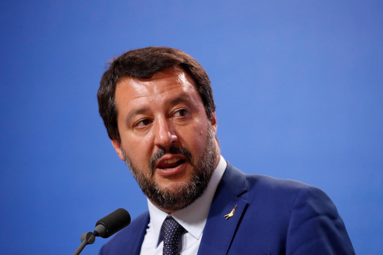 Le vice-Premier ministre italien Matteo Salvini a ironisé sur la portée de la lettre envoyée par Bruxelles.