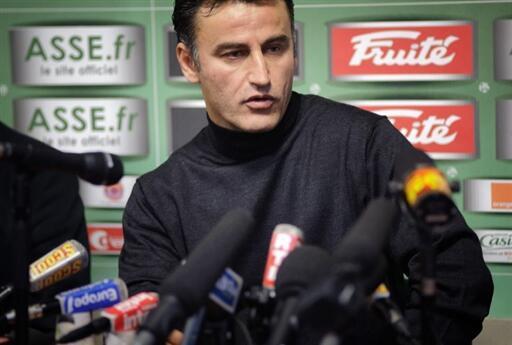 Christophe Galtier, le nouvel entraîneur de Saint-Etienne.