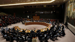 联合国安理会会场资料图片