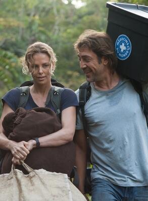 "Charlize Theron e Javier Bardem, protagonistas do filme ""The last face"""