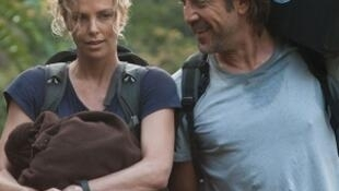 "Charlize Theron e Javier Bardem, protagonistas do filme ""The last face"""