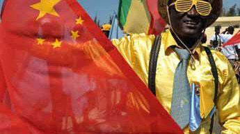 Présence de la Chine en Afrique.