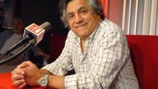El realizador peruano Hernán Rivera en RFI