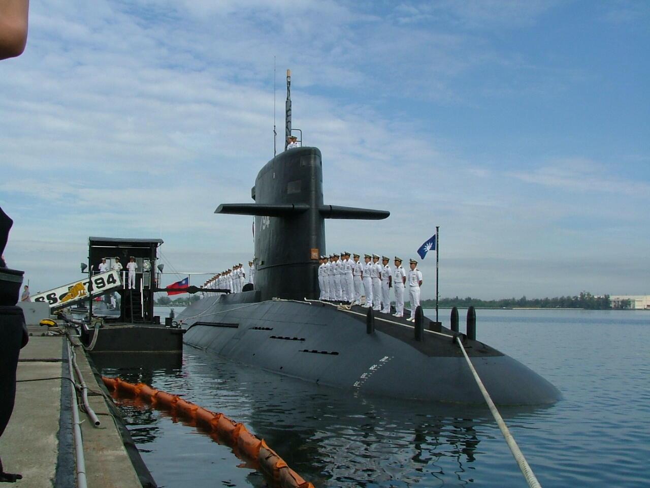 台灣向荷蘭購買的劍龍級潛艦