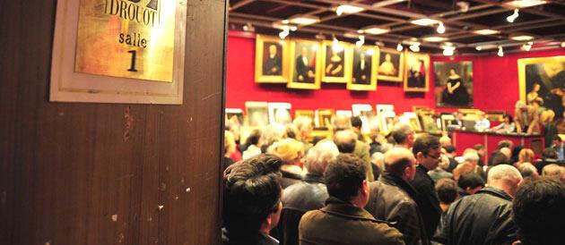 Tranh của vua Hàm Nghi được bán đấu giá tại Drouot, phòng số 1 (J.C)