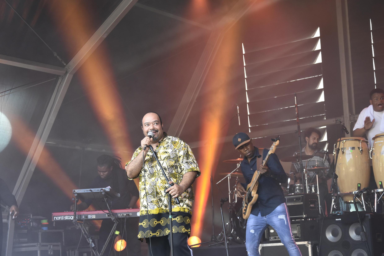 Paulo Flores no festival  Rock In Rio 2018.Bela Vista, Lisboa.30 06 2018