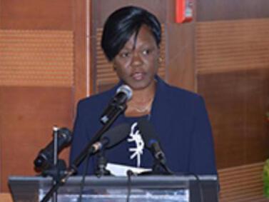 La ministre ivoirienne de l'Economie et des Finances, Kaba Nialé.
