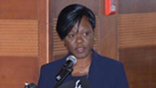 La ministre ivoirienne de l'Economie et des Finances, Nialé Kaba.