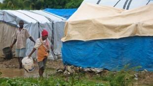 Plus d'un million de Haïtiens sont menacés par la faim après le passage de Sandy.