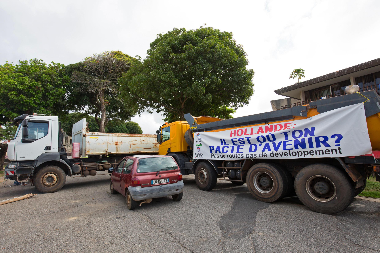 Greve geral paralisa a Guaiana Francesa