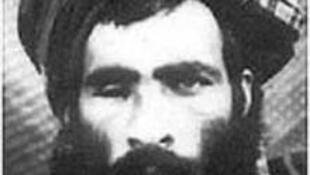 A photo believed to be of Mullah Omar, although disputed