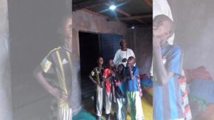 Une famille de Ndjamena, cliente de Kouran Djabo.