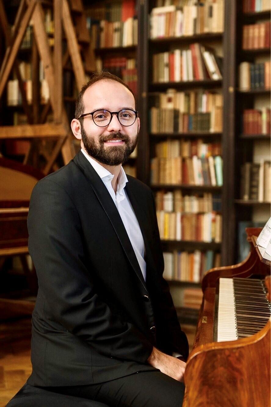 O pianista paranense Paulo Meirelles.