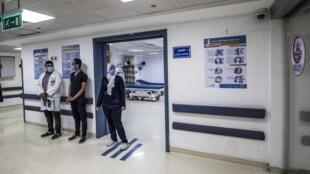 Du personnel médical de l'hôpital de Sharm el-Sheikh dans le Sinaï (image d'illustration).