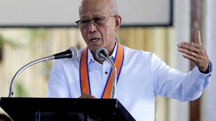 Philippine Defense Secretary Delfin Lorenzana.