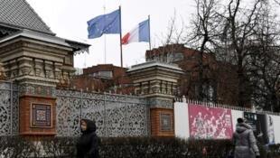 L'ambassade de France à Moscou (illustration).
