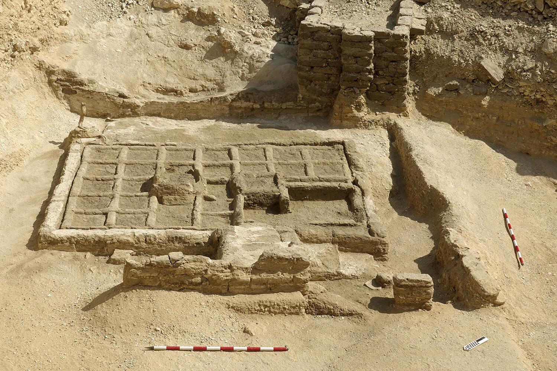 Jardín funerario descubierto por el equipo de investigación del CSIC.