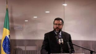 Entrevista coletiva do Ministro Ernesto Araújo em Washington, EUA