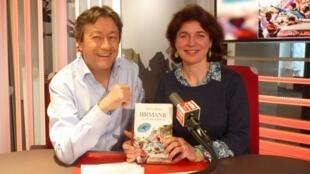 Sylvie Brieu y Jordi Batallé en RFI