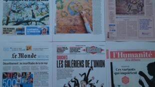 Diários  franceses  16 04 2021