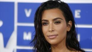 Kim Kardashian in New York, August 28, 2016.