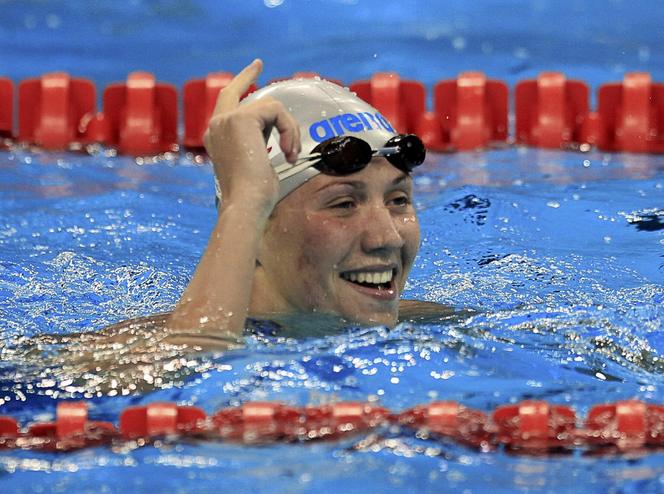 La nageuse russe Anastasia Zueva.
